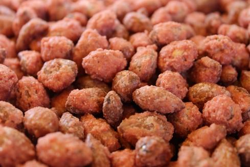 Cherry Vanilla Almonds